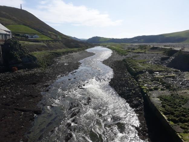 The Ystwyth at Tan-y-Bwlch